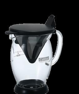 شیشه-قهوه-قهوه-v60-hario-cafeor-با-فیلتر-استنلس-استیل