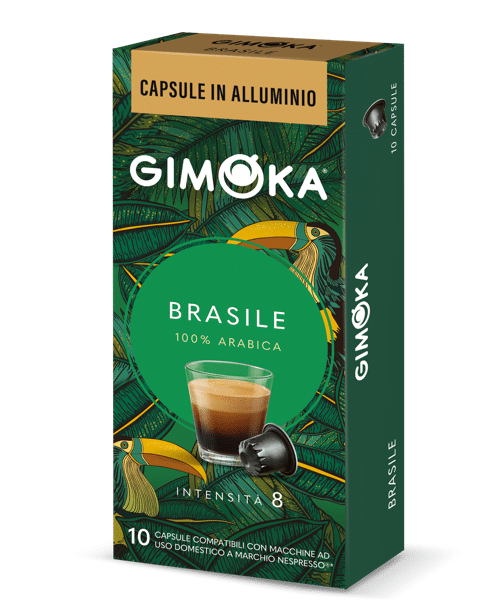 کپسول-های-آلومینیومی-gimoka-brazil-برای-دستگاه-های-100٪-arabica-nespresso