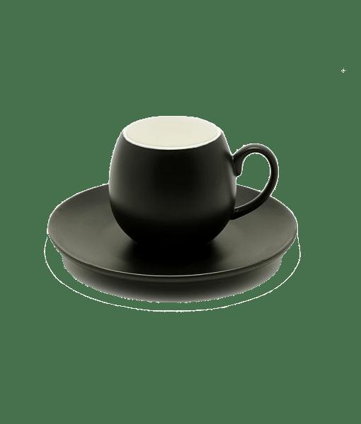 یک-فنجان-اسپرسو-آغوش-سیاه-شامل-ته-آن
