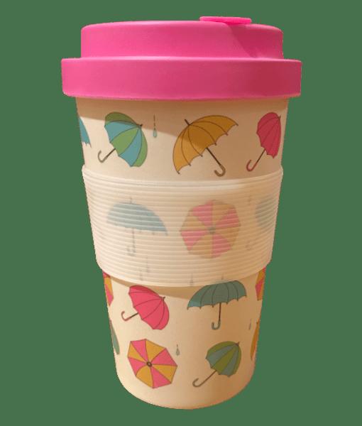 یک-فنجان-بامبو-اکو-حرارتی-که-با-چتر-طراحی-شده-است